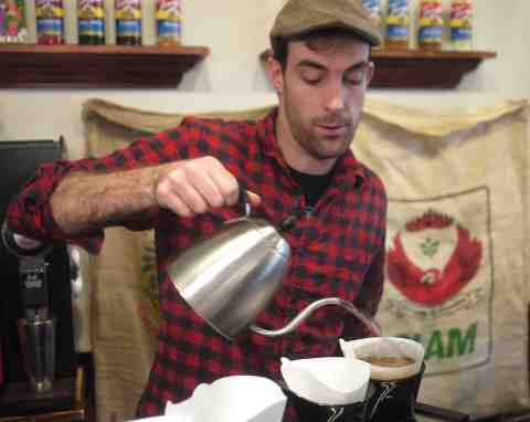 James Caverly of Booskerdoo Coffee
